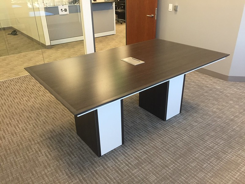 """We are extremely happy with how the conference table and credenzas turned out."""